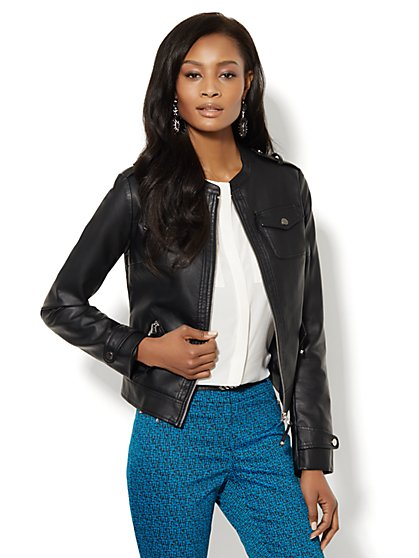 Four-Pocket Moto Jacket