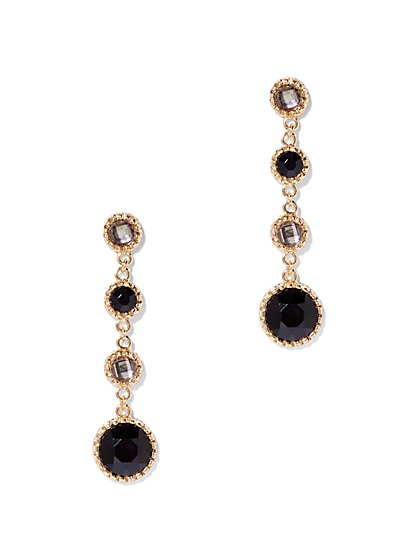 Four-Stone Drop Earring  - New York & Company