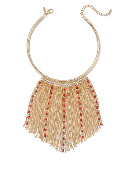 Fringe Collar Necklace  - New York & Company