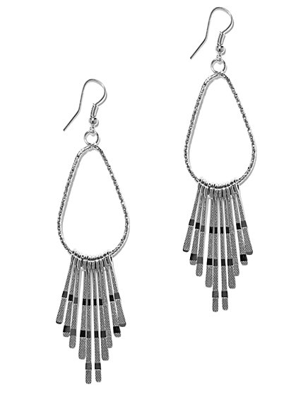 Fringe Drop Earring  - New York & Company
