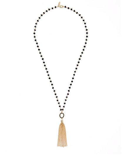 Fringe Pendant Necklace  - New York & Company