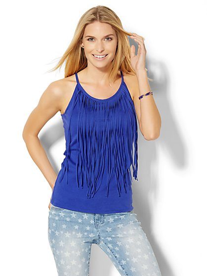 Fringe Tank Top  - New York & Company