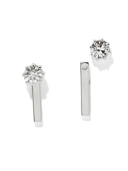 Front/Back Bar Earring  - New York & Company