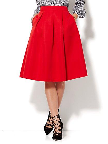 Full Pleated Skirt - Petite - New York & Company