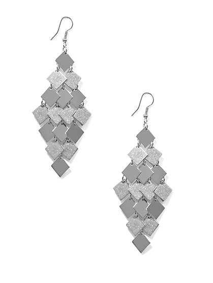 Geo Chandelier Earring  - New York & Company