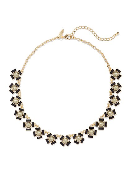 Geo Collar Necklace  - New York & Company
