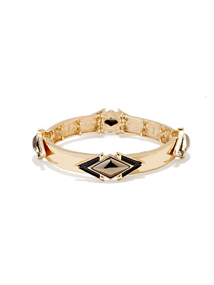 Geo Stones & Arrows Bracelet - New York & Company