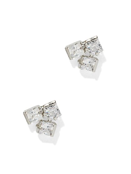 Geometric Cluster Post Earring  - New York & Company