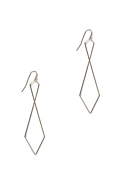 Geometric Drop Earring  - New York & Company