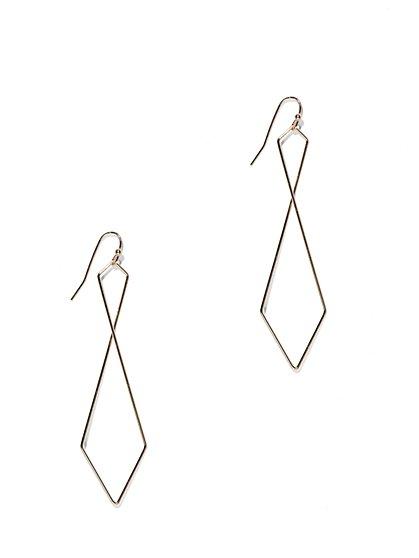 Geometric Drop Earring  - New York & Company