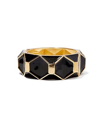 Geometric Hinge Bracelet  - New York & Company