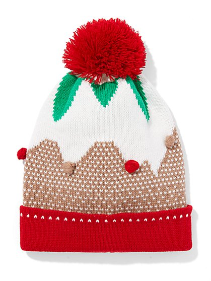 Gingerbread Knit Hat  - New York & Company