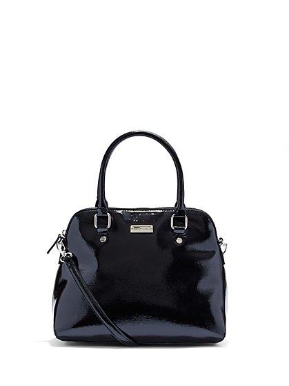 Glazed Bowler Bag  - New York & Company
