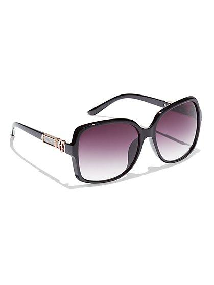 Glitter-Accent Sunglasses  - New York & Company