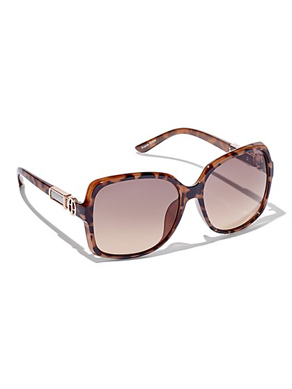 Glitter-Accent Sunglasses  - New York & Company