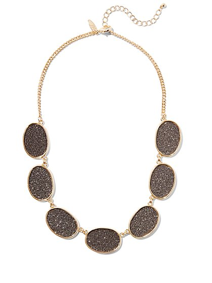 Glitter Collar Necklace  - New York & Company