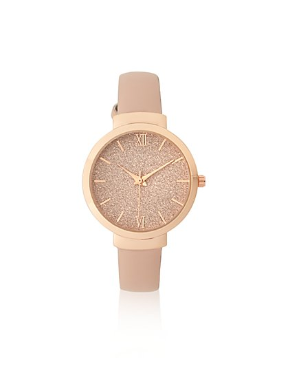 Glitter-Finish Watch  - New York & Company
