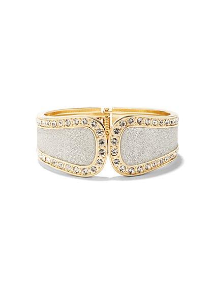 Glitter Hinge Bracelet  - New York & Company
