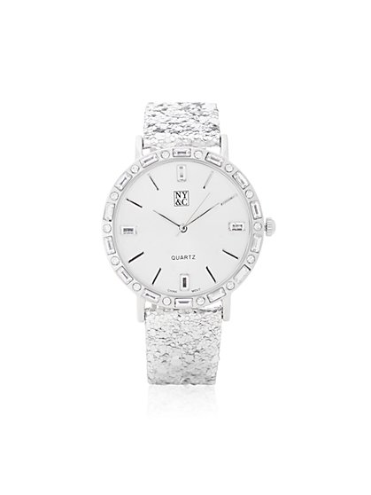 Glitter Strap Watch  - New York & Company