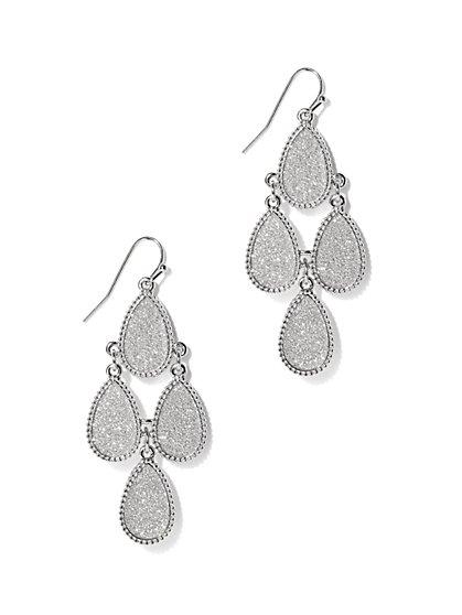 Glittering Chandelier Earring  - New York & Company