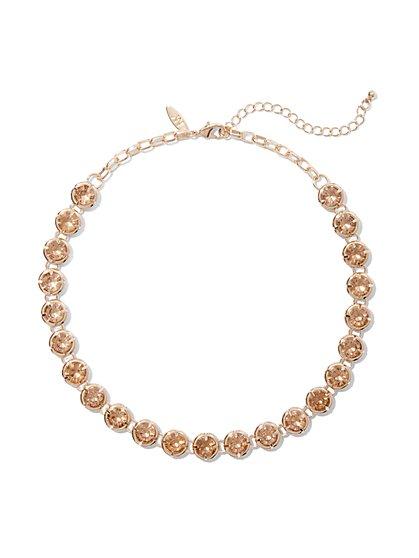 Glittering Collar Neckace  - New York & Company