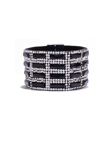 Glittering Cuff Bracelet  - New York & Company