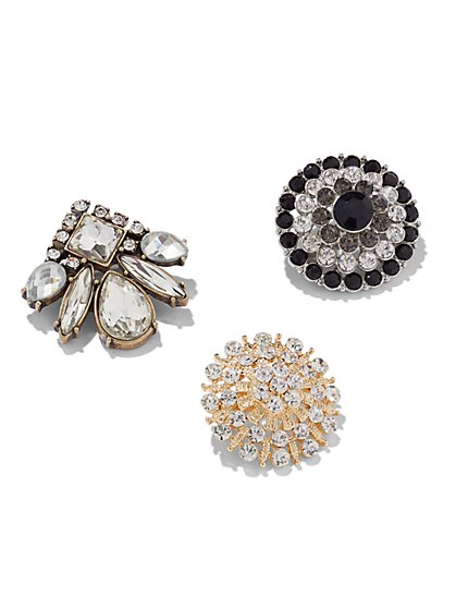 Glittering Pin Trio  - New York & Company