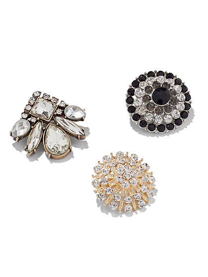 Glittering Pin Trio  - New York & Company