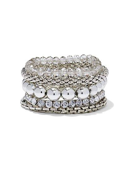 Glittering Stretch Bracelet - New York & Company