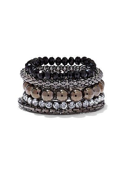 Glittering Stretch Bracelet - New York & Company