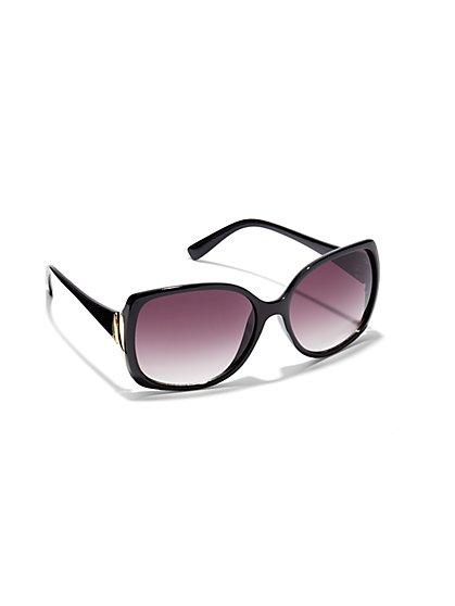 Gold-Accent Sunglasses  - New York & Company