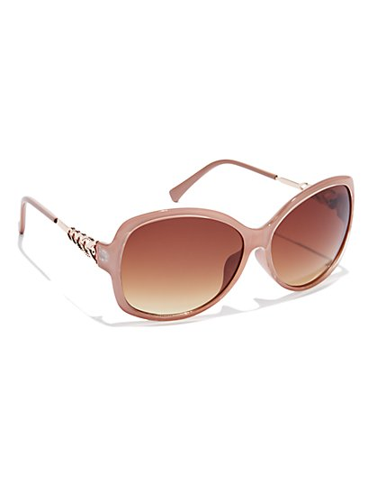 Golden-Accent Sunglasses
