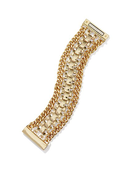 Golden Links Bracelet - New York & Company