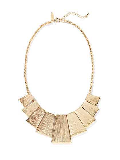Golden-Plates Necklace