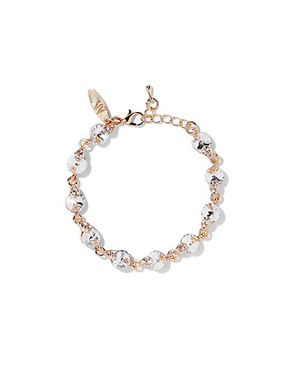 Goldtone Chain-Link Bracelet  - New York & Company