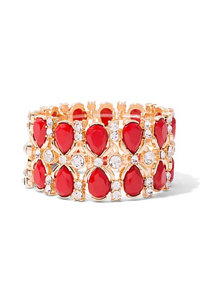 Goldtone Coil Bracelet  - New York & Company