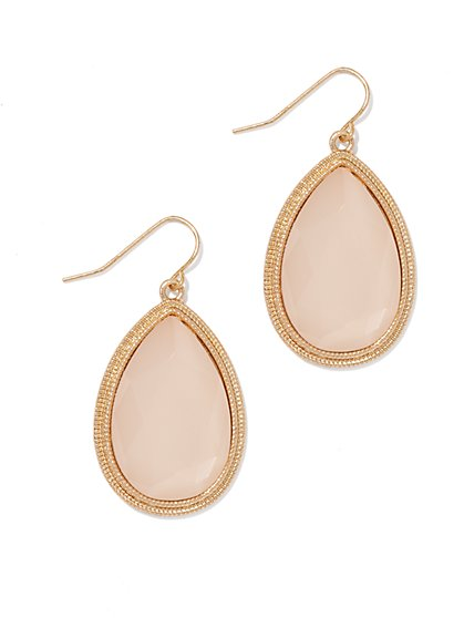 Goldtone Drop Earring  - New York & Company
