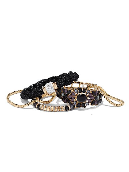 Goldtone Five-Piece Bracelet Set  - New York & Company