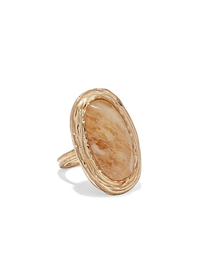 Goldtone Wire Ring  - New York & Company