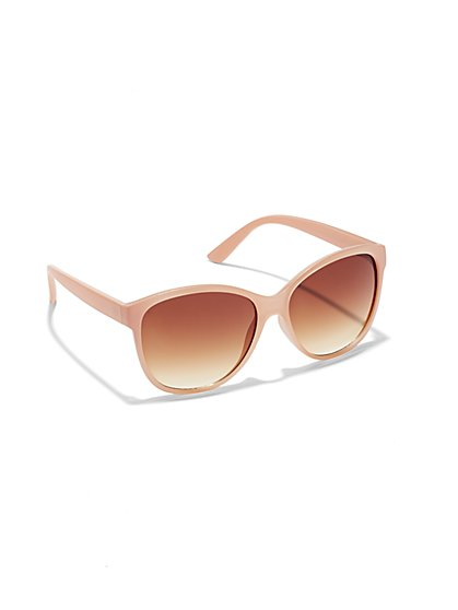 Gradient-Lens Sunglasses  - New York & Company