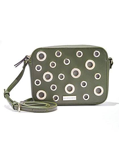 Grommet Crossbody Bag - New York & Company