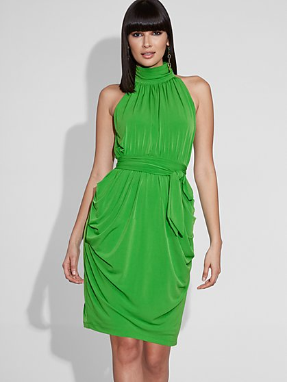 Halter Sheath Dress - Gabrielle Union Collection - New York & Company