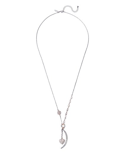 Heart Charm Pendant Necklace  - New York & Company