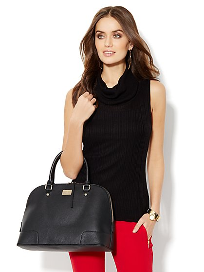 Hi-Lo Draped-Neck Turtleneck  - New York & Company