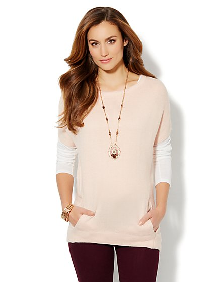 Hi-Lo Tunic Sweater - New York & Company