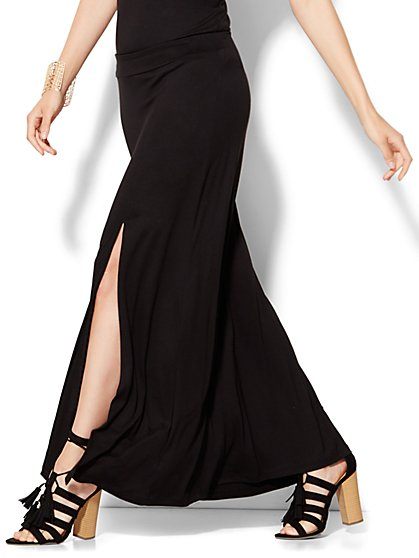 High-Slit Maxi Skirt  - New York & Company