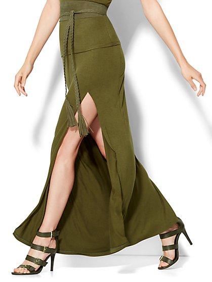 High-Slit Maxi Skirt  - New York & Company