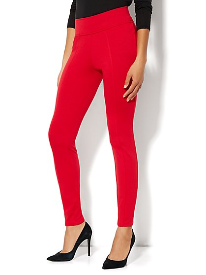 High-Waist Ponte Legging - New York & Company