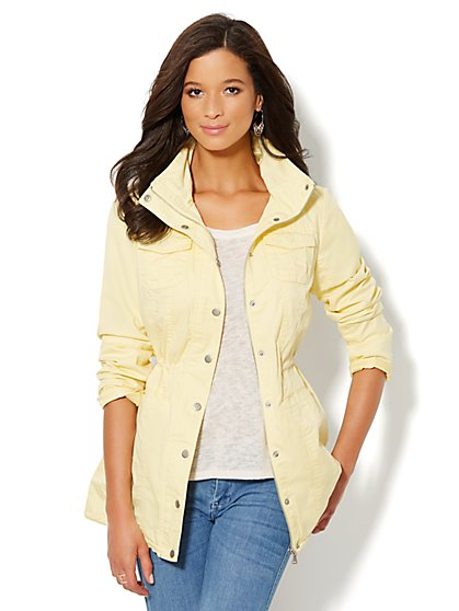 Hooded Anorak - New York & Company
