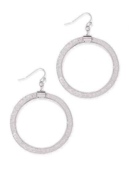 Hoop Drop Earring  - New York & Company